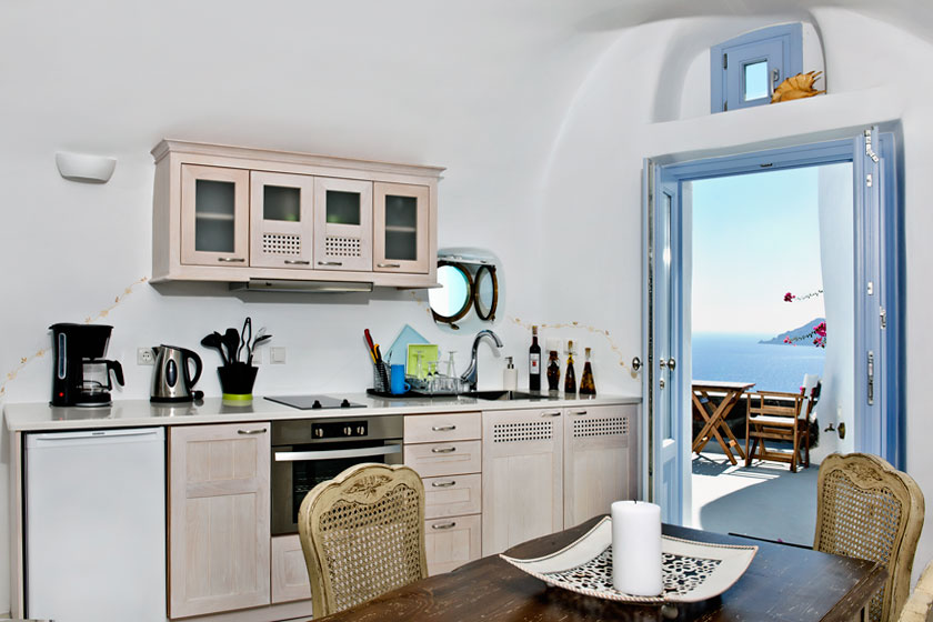 Caldera Villas Santorini Accommodation - Gaia Villa Oia